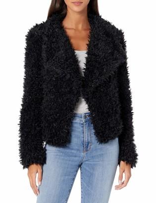 Vero Moda Women's Fenda Jayla Short Faux Fur Jacket