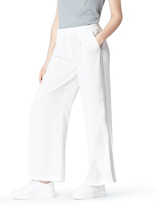 Find. Amazon Brand Women's Soft Tapered Side Stripe Trouser