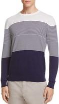 Z Zegna Micro Stripe Sweater