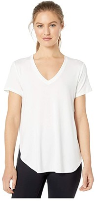 Lole Agda V-Neck (White) Women's Clothing
