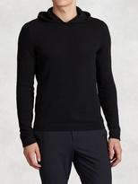 John Varvatos Wool Hooded Sweater