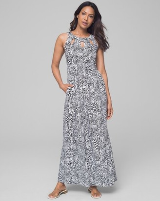 Soma Intimates Keyhole Maxi Dress
