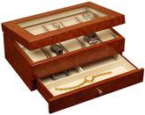 Asstd National Brand Oak Finish Watch Box