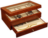JCP Oak Finish Watch Box