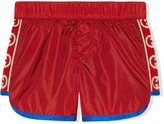 Trunks Gucci Kids interlocking G swim shorts