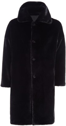 SAM. Black Teddy Coat
