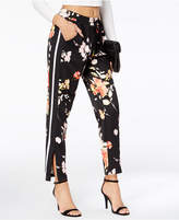 Material Girl Juniors' Printed Satin Jogger Pants, Created for Macy's