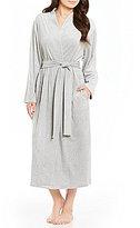 Miss Elaine Petite Luxe Fleece Long Wrap Robe