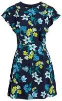 Draper James Floral Ruffle Cotton Dress