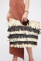 Hula Straw Clutch by San Diego Hat Co. at Free People