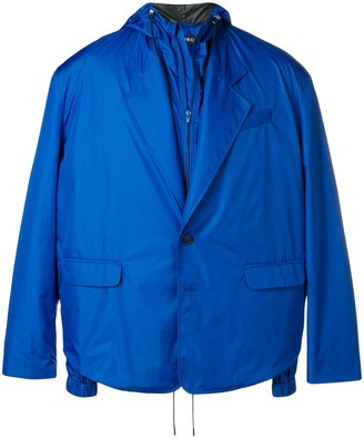 Y/Project Buttoned Hooded Jacket