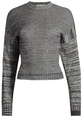 Proenza Schouler White Label Marled Silk Blend Sweater