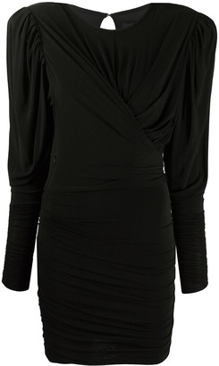Isabel Marant Draped Fitted Mini Dress