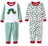 Intimo Eric Carle Very Hungry Caterpillar Toddler Boys' Pajama 4 Piece Set