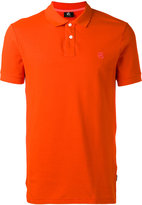 Paul Smith embroidered logo polo shirt - men - Cotton - XL