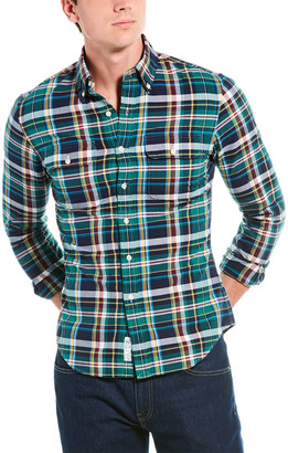 Polo Ralph Lauren Slim Fit Plaid Oxford Shirt