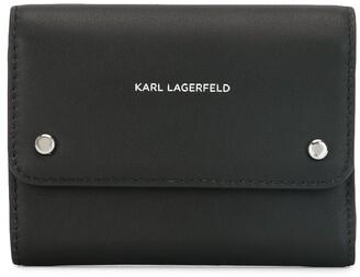 Karl Lagerfeld Paris K/Ikon foldover wallet