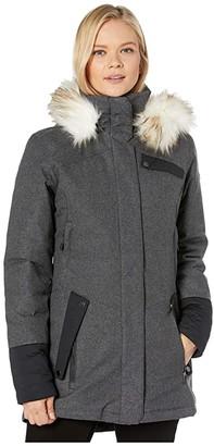 Spyder Metro GTX Infinium Down Parka (Black) Women's Coat