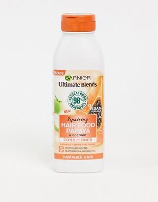Garnier Ultimate Blends Repairing Hair Food Papaya Conditioner For Damaged Hair 350ml