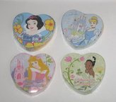 Disney Princess Heart Shaped Magic Pop Up Towels - 4 Varied Princesses