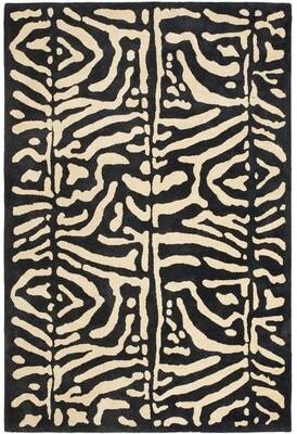 Lauren Ralph Lauren Alden Hand-Tufted Wool Safari Night Area Rug Rug Size: Rectangle 2' x 3'