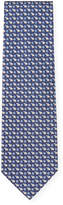 Salvatore Ferragamo Men's Snowflake & Polar Bear Print Silk Tie