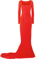 Stella McCartney Giorgelli Stretch-crepe Gown - Tomato red