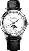 Jaeger-LeCoultre Jaeger Le Coultre 1368420 Master alligator-leather and stainless steel watch