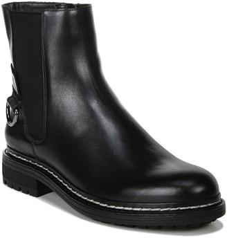 Franco Sarto Zipper Leather Moto Boots - Seri