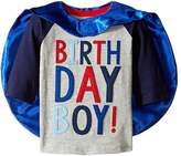 Mud Pie 1 Birthday Boy Cape T-Shirt Boy's T Shirt