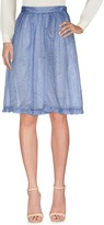 L'Autre Chose Knee length skirts - Item 35318215
