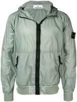 Stone Island hooded compass badge jacket