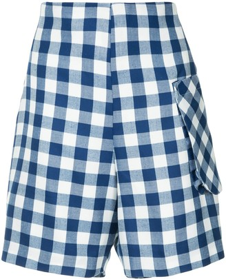 Bambah Royal Gingham Shorts