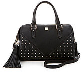 Gianni Bini Tasseled Studded Satchel
