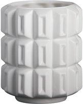 CB2 Isadore Small White Vase