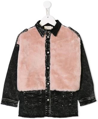 Andorine embelished denim shirt
