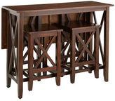 Pier 1 Imports Kenzie Mahogany Brown Breakfast Table Set
