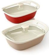 Corningware CLOSEOUT! Etch 2.5 Qt. Covered Oblong Dish