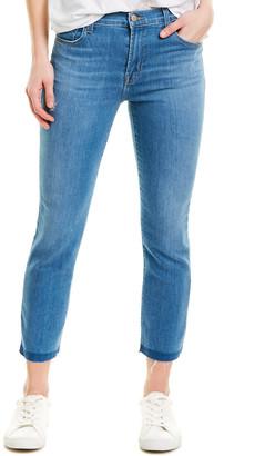 J Brand Ruby Limitless High-Rise Crop Cigarette Leg