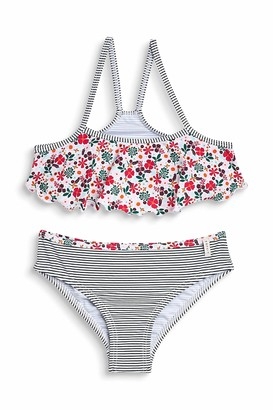 Esprit Girl's Mille Fleur Beach Mgbustier + Brief Swimwear Set