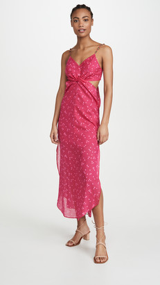 Vix Paula Hermanny Brigitte Cut Out Dress