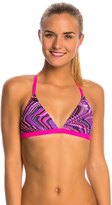 TYR Glitch Triangle Bra Bikini Swimsuit Top 8145538