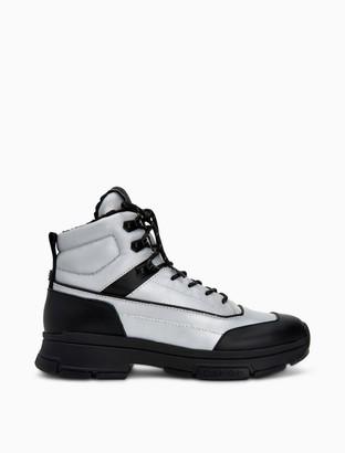 Calvin Klein Cillian Smooth Calf Textile Boot