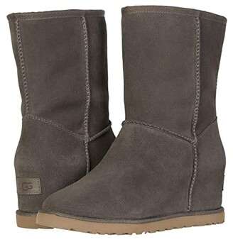 UGG Classic Femme Short (Slate) Women's Cold Weather Boots