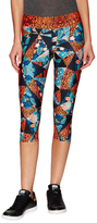 We Are Handsome Jungle Fever Active Capri Leggings