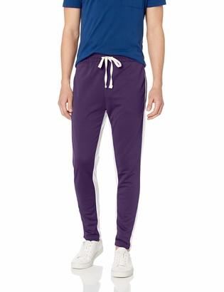 WT02 Men's Basic Poly Pique Track Pants