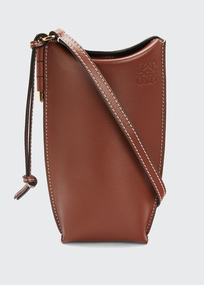 Loewe Gate Pocket Classic Calf Leather Bucket Bag