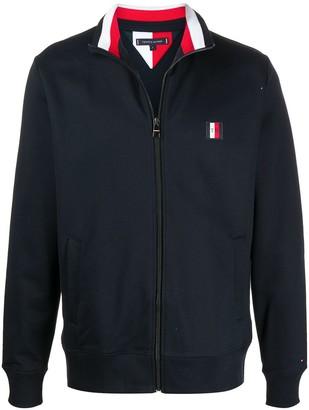 Tommy Hilfiger Logo Zipped Sweatshirt