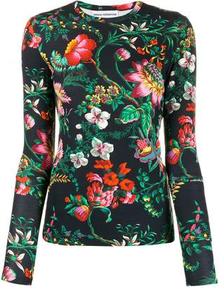 Paco Rabanne floral print T-shirt
