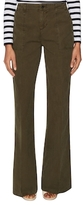 J Brand Drea Cotton Utility Flared Pant